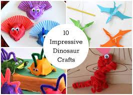 10 impressive dinosaur crafts