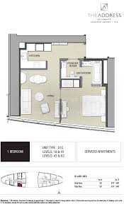 floor plans by address floor plans the address residence jumeirah resort jbr dubai