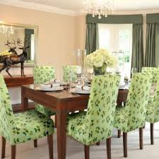 Fabric Chairs For Dining Room by Furniture Contemporary Fabric With Motif Floral Parson Chairs For