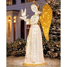 Amazon Outside Christmas Decorations 17 Best Lighted Outdoor Angel Christmas Decoration Images On