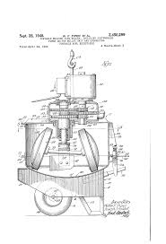 patent us2450299 portable molding sand muller including