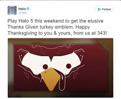 halo 5 thanksgiving emblem available to anyone who plays this