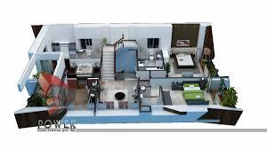 high class architectural visualization goa 3d power