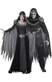 Evil Queen Costume Evil King U0026 Queen Couple Costumes Simply Fancy Dress
