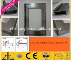 Kitchen Cabinet Door Profiles Aluminium Profile For Kitchen Cabinet Frame Aluminium Extrusion