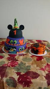 mickey mouse halloween birthday cake smash pirate costume