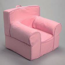 Pottery Barn Kids Everyday Chair Insert For Pottery Barn Anywhere Chair Includes Pink Gingham Slip