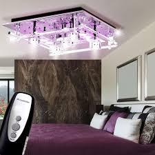 Wohnzimmerlampe Kristall Led Decken Leuchte Glas Würfel Lampe Kristall Beleuchtung Leuchten