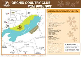 road map sle orchid country club