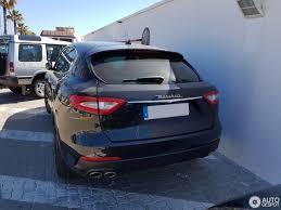 maserati levante trunk maserati levante diesel 31 may 2017 autogespot