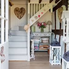 country hallway with painted stairs hallways painted stairs and