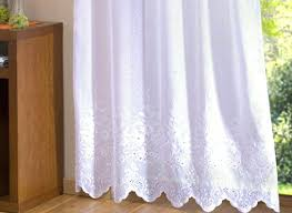 Lace Trim Curtains Sheer Curtains With Lace Trim Curtain Is An All