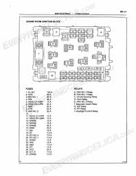 1998 toyota celica fuse box 1998 wiring diagrams instruction