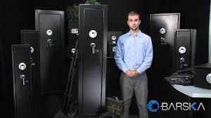 Biometric Gun Safe Wall Mount Large Quick Access Biometric Rifle Safe By Barska Youtube