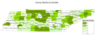 Map Tennessee Tennessee Has A New List Of Best And Worst Counties For Children