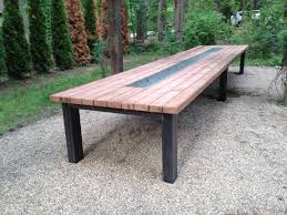 Redwood Dining Table Outdoor Tables Hearthwoods