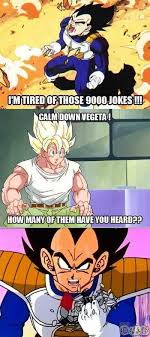 Over 9000 Meme - over 9000 dragon ball dragons and dbz
