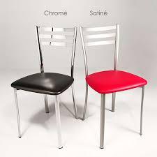 chaises cuisines chaise de cuisine en métal ace 1320 4 pieds tables chaises et