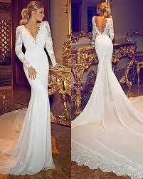 long sleeve open back wedding dress 10 ways of shaping