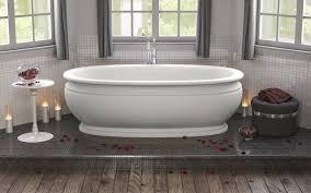 Composite Bathtub Stone Cast Stone Tubs With Best Quality Aquatica Usa