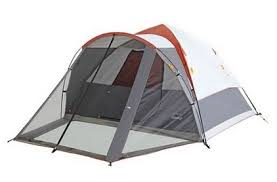 amazon com embark 6 person speed up tent with screen porch gray