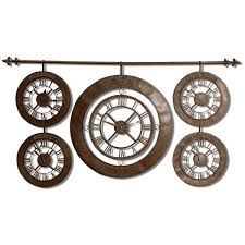 uttermost time zones wall clock 06909 clocks pinterest wall