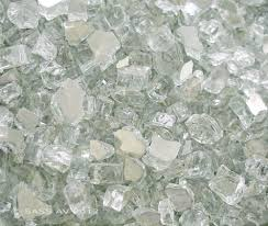 Fire Pit Crystals - reflective fire glass ebay