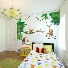 décoration chambre bébé jungle deco jungle chambre bebe stickers muraux pour dacco de chambre
