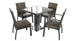 wicker dining table with glass top the stylish wicker dining room chairs purplebirdblog com