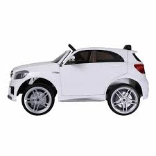 jeep mercedes white licensed mercedes a45 suv 12v ride on jeep with remote white