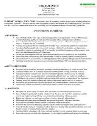accountant resume template accountant resume sle musiccityspiritsandcocktail