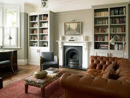 painting built in bookcases london painted built in bookcases home office traditional with white