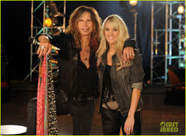 carrie underwood u0026 steven tyler cmt crossroads photo 2624943
