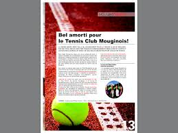 l amour dans le bureau article mougins info tennis de mougins