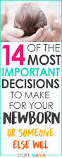 14 important decisions to make for baby before birth birth and