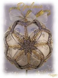 231 best quilted folded ornaments images on crafts