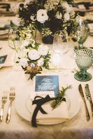 Wedding Table Setting The Most Romantic U0026 Elegant Bridesmaid Dresses Wedding Table