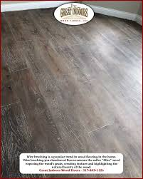 S Hardwood Flooring - wire brushed of hardwood floors by great indoors wood floors in