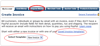 send a request for money to your buyers