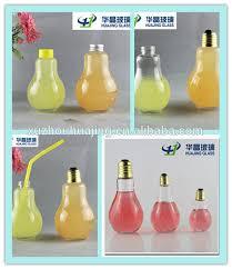 light bulb shaped l 100ml cute light bulb shaped glass liquor gift bottle with cap