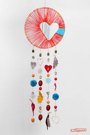 hearts and stars dream catchers yarn free knitting patterns