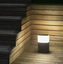 garden bollard light contemporary aluminum polycarbonate