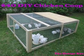 Easy Backyard Chicken Coop Plans by Chicken Coop Diy 4 Diy Backyard Chicken Coop Diy Pinterest