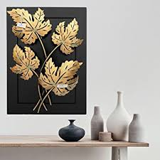 buy collectible india home decor iron handmade leaf design natural