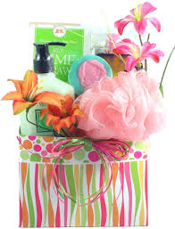 spa gift baskets for women citrus wave spa gift basket for small