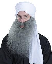 halloween costumes beards a317 turban and beard middle east halloween costume kit