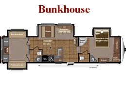bunkhouse fifth wheel floor plans new used fifth wheels for sale floorplans broadmoor rv