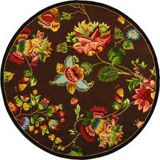 butterfly area rugs round 7 u0027 and larger hooked area rugs rugs the home depot