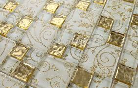 where to buy gold foil luminous gold foil glass mosaic tiles tv kitchen backsplash