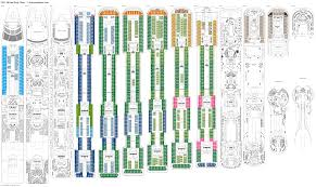 cruise ship floor plans server on a boat networking